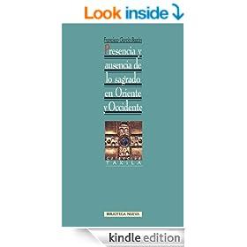 Presencia y ausencia de lo sagrado en Oriente y Occidente (Taxila) (Spanish Edition)