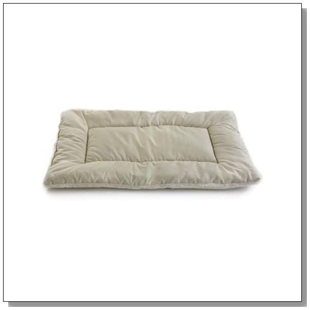 Pet Dreams Classic Sleep-eez Dog Bed Reversible 42 by 28-Inch Pet Bed, X-Large, Khaki