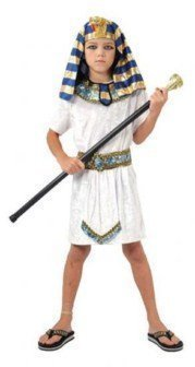 Pams Pharaoh Egyptian Boy Outfit [Required Size : Medium ( 6-9 Yrs )]