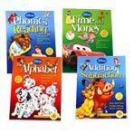 Disney Adventures in Learning - 4 Workbook Set (Time & Money, The Alphabet, Phonics & Reading and Addition & Subtraction) - 1