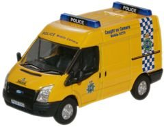 Oxford Diecast 1:76 Oxford Diecast Merseyside Police Mobile Camera Ford Transit