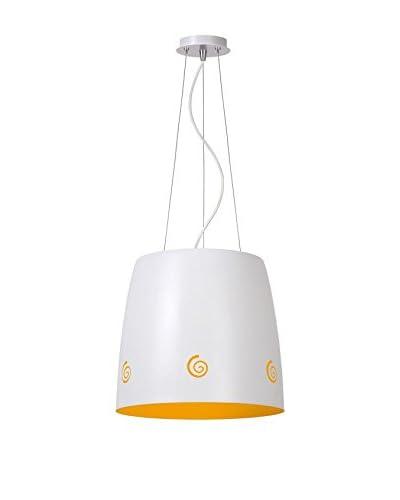Lucide Lampada A Sospensione [Bianco/Arancione]
