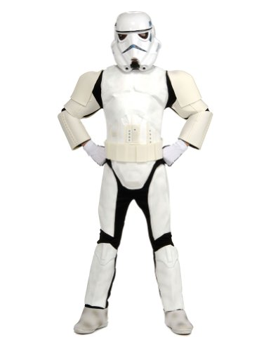 Child Deluxe Stormtrooper Md Kids Boys Costume