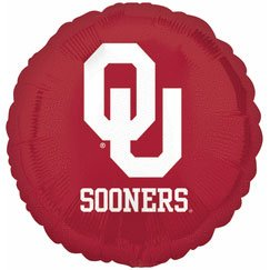 "18"" University of Oklahoma Foil Balloon - 1"