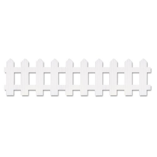 Pacon Corporation Picket Fence Roll 6X16 White