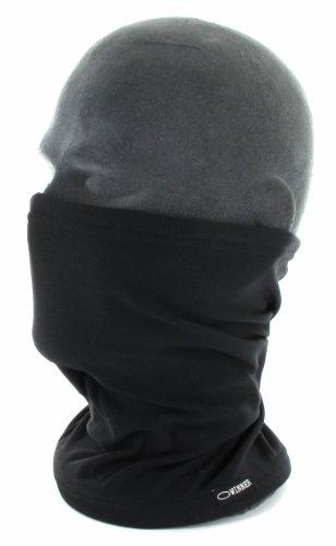0a9907cd262b gWINNER ® cache cou   écharpe polaire hiver sport froid - deux couches de  matériau -