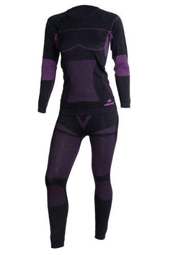 Viking ILSA Damen Set Funktionsunterwäsche Nahtlostechnologie Thermoaktiv Atmungsaktiv Skiunterwäsche - Ski - Snowboard - Langlauf