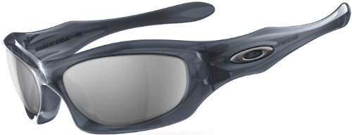 Oakley monster dog sunglasses crystal blk/blk irid