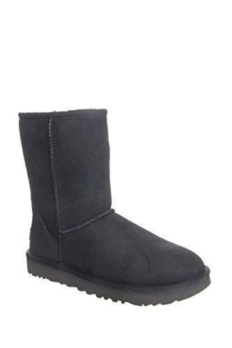 ugg-womens-classic-short-ii-ankle-boots-black-black-6-uk-37-eu