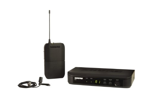 Shure Blx14/Cvl Instrument Wireless System With Cvl Lavalier Microphone, H8