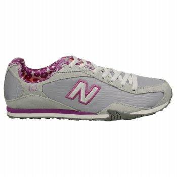 New Balance Women's 442 Sneaker Grey/Purple 12 B US