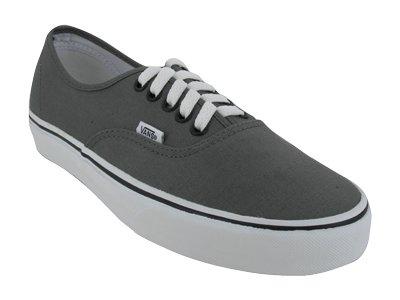 Vans Unisex Authentic Skate Shoe (Grade School) Pewter/Black sz 6M/ sz 7.5 W