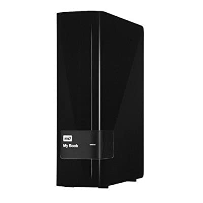 2TB Western Digital My Book Desktop Storage External Powered Hard Drive power required power through adepter WD