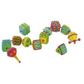 International Playthings Early Years Soft Plastic Lacing Beads