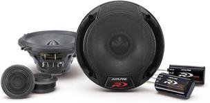 Alpine Spr-50c 5.25-Inch 2 Way Pair of Component Car Speaker System (Alpine Car Speakers compare prices)
