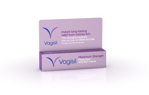 Anti Itch Creme Vagisil 1 Oz For Women Painful Burning Itching Soothes Irritation