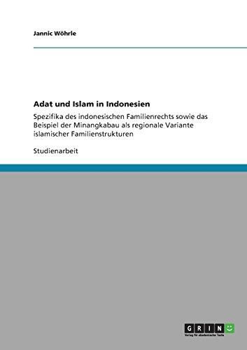 Adat Und Islam in Indonesien (German Edition)