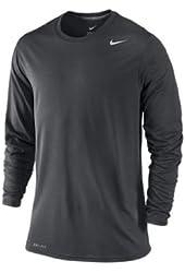 Nike Men's Long Sleeve Legend Dri Fit Tee