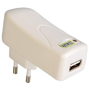 Artwizz PowerPlug USB-Ladegerät für iPod, iPhone und MP3-Player weiß