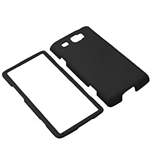 BW Hard Shield Shell Cover Snap On Case for AT&T Samsung Focus Flash i677 -Black