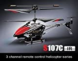 Syma S107C Camera 3 Channel Remote Control Helicopter with Gyro & Video Recording (Colors May Vary)