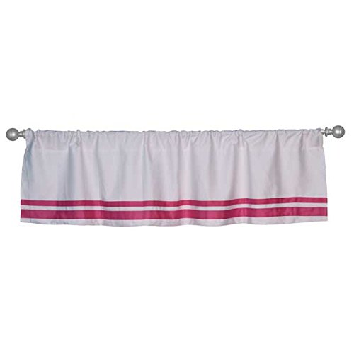 Safe Sleep Pink Valance