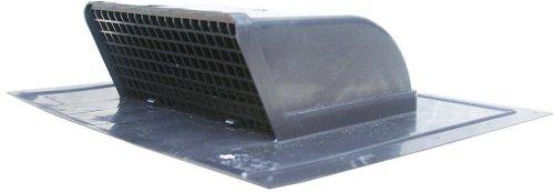 Speedi-Products EX-RCLP 48 4-Inch to 8-Inch Plastic Low Profile Roof Cap, Black