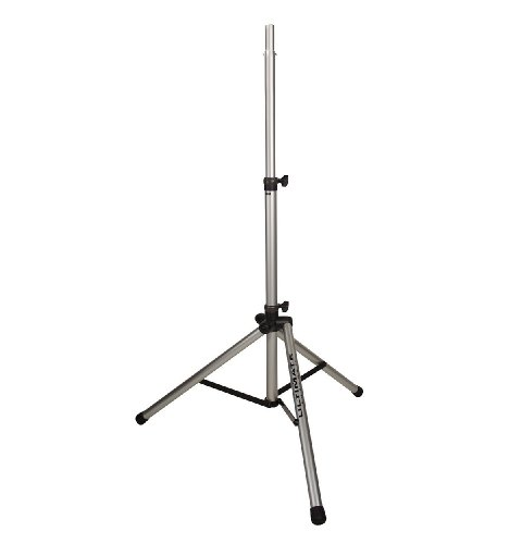 New Ultimate Support | High-Quality Original Series Aluminum Tripod Speaker Stand, Ts-80S With Integrated Speaker Adapter And Heavy Wall Aluminum Tubing (Silver)