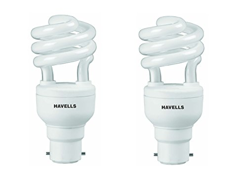 Havells-T2-Spiral-12W-B-22-CFL-Bulb-(Cool-Day-Light,-Pack-of-2)