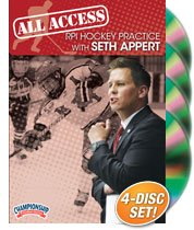 All-Access RPI Hockey Practice with Seth Appert by Championship Productions