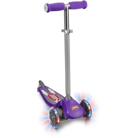 radio-flyer-lean-n-glide-with-light-up-high-performance-urethane-3-wheels-fast-smooth-ride-heavy-dut