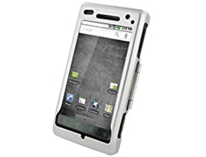 Silver Hard Metal Aluminum Protector Cover Case For Motorola Droid