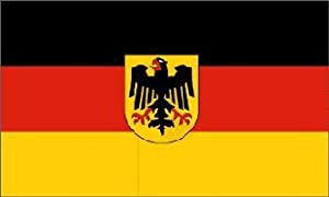 Old Germany Flag with Eagle, 3 x 5 Feet from Oktoberfest Haus