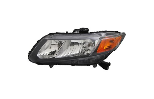 Tyc 20-9210-00 20-9209-00 Honda Civic Driver And Passenger Side Replacement Headlights