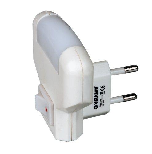 Punto luce LED (colore:bianco) con interruttore TWILIGHT IL09 VELAMP