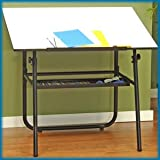 Studio Designs Ultima Fold-A-Way Table W/Tray (Black Base)