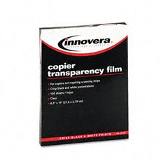 INNOVERA(65120) Clear Transparency Film, For Plain Paper Copiers, Unstriped, , - Buy INNOVERA(65120) Clear Transparency Film, For Plain Paper Copiers, Unstriped, , - Purchase INNOVERA(65120) Clear Transparency Film, For Plain Paper Copiers, Unstriped, , (Innovera, Office Products, Categories, Office & School Supplies, Presentation Supplies, Transparency Film)