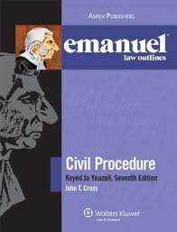 Emanuel Law Outline: Civil Procedure Yeazell (Emanual Law Outlines) 7th (seventh) edition