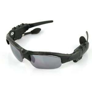 Bluetooth + Mp3-Headset Sunglasses Mp3 Player-2Gb