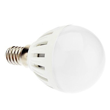 E14 G45 5W Ceiling Fan 10X5730Smd 420Lm 6000K Cool White Light Led Globe Bulb (220-240V)
