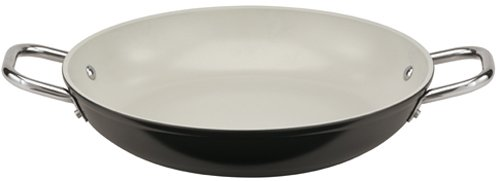 Paderno World Cuisine 11-Inch Ceramic Coated Paella Pan