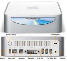 Best Buy Apple Mac Mini A1103 PowerPC G4 1 42GHz 1GB 80GB DVD/CD-RW