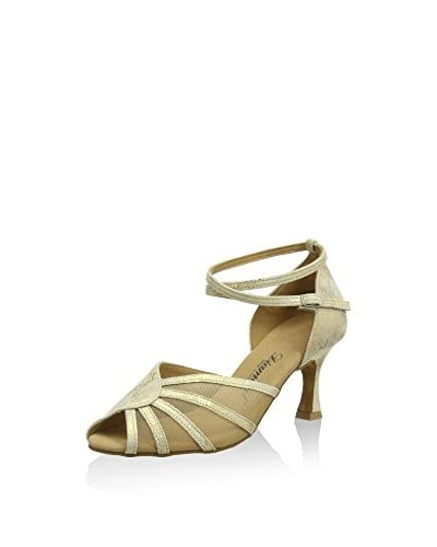 Diamant Pumps gold