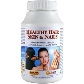 Amazon.com: Healthy Hair, Skin & Nails 100 Capsules ...