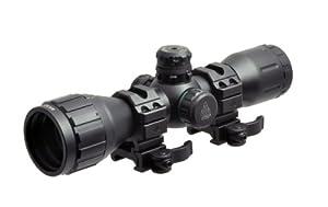 Bug Buster New Gen 6 x 32 TS Compact AO Mil-Dot RGB Illuminated Scope (Black)