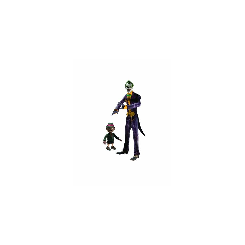 DC Direct Batman Arkham Asylum Series 1 The Joker with Scarface Action Figure