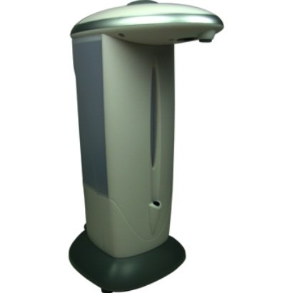 Auto Sensor Soap and Sanitizer Dispenser with Continuous Dispense and Portion Control Features