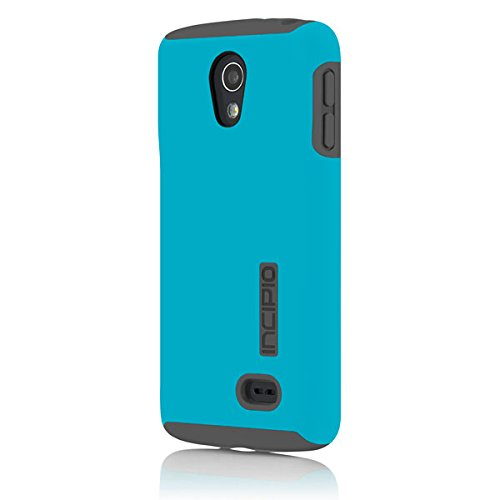 Incipio DualPro Case for LG Lucid 3 - Retail Packaging - Cyan/Gray