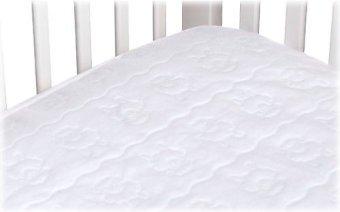 Kid-Ding 100% Waterproof Quilted Crib Mattress Pad - 28 X 52