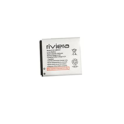 Riviera 1600mAh Battery (For Karbonn A91)